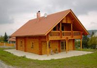 Construcciones de madera con llave