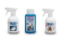 Productos cosméticos para gatos y perros