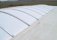 Bandas de claraboyas de tejado