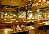 Restaurante checo en la ciudad de praga