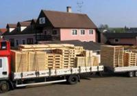 Empaque de mercancía de exportación