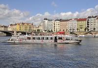 Navegaciones por el río vltava