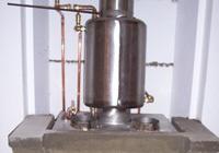 El termocambiador inoxidable de chimenea